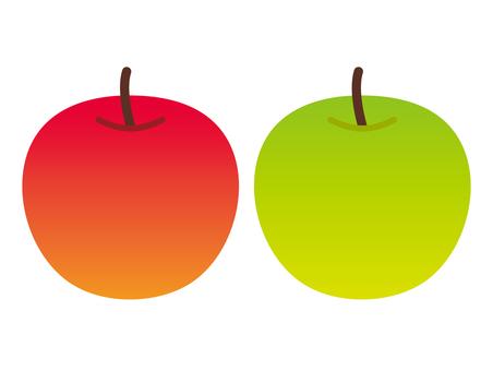 蘋果和青蘋果