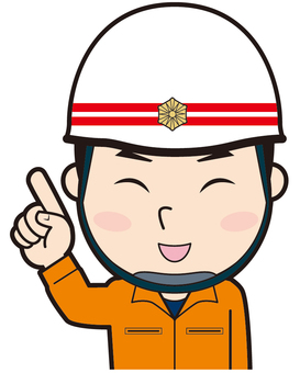 Pointing Rescue Worker (Smile)