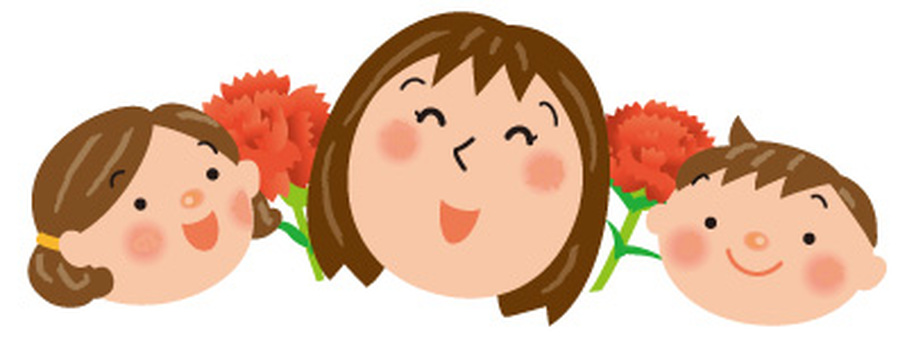 Mother, child, carnation 2