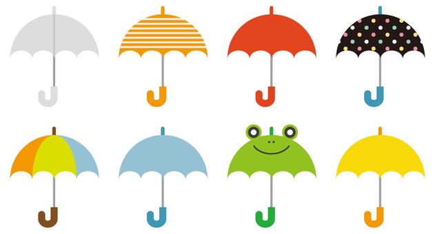 Assembly of umbrella