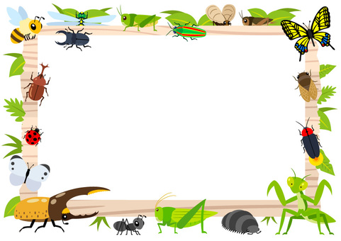 Signboard and Insects Frame A