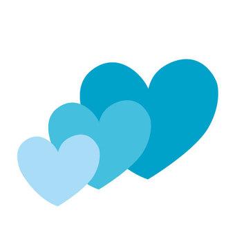 Heart (blue series)