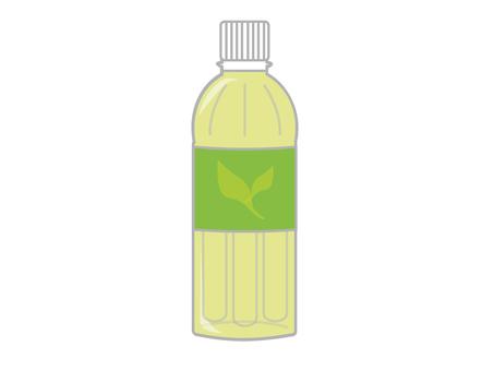 Tea in plastic bottles