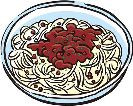Cold noodles, ramen