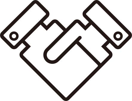 Shake hand icon
