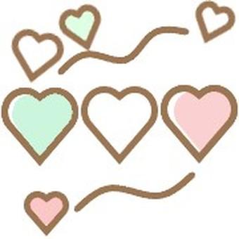 Heart cute adult cute pastel