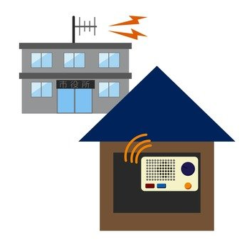 Disaster prevention radio 1