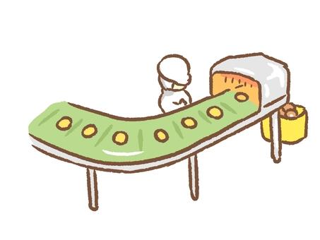 Belt conveyor green
