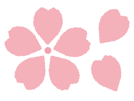 Cherry blossom icon 01