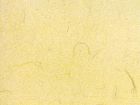 Yellow Japanese paper