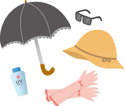 Measures against sunburn