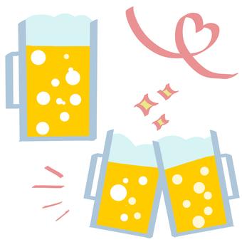Beer (mugs, toasts)