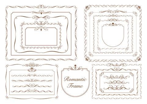 Romantic frame_Brown