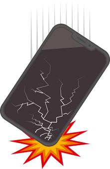 Smartphone trouble [falling]