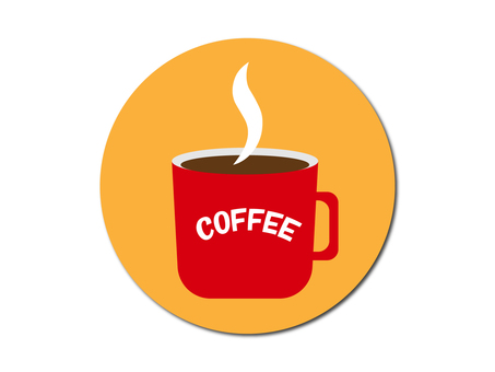 Illustration material of coffee