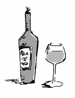 Wine (monochrome)