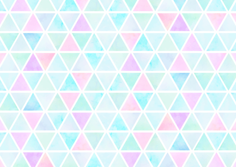 Background material Triangular tile