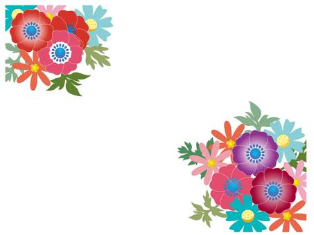 Anemone isolated on white background