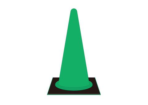 Color cone 05 green