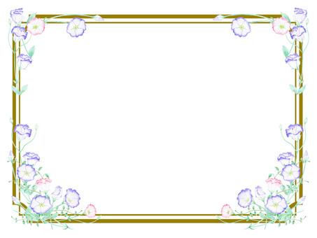 トルコキキョウ枠飾り ★0496-F