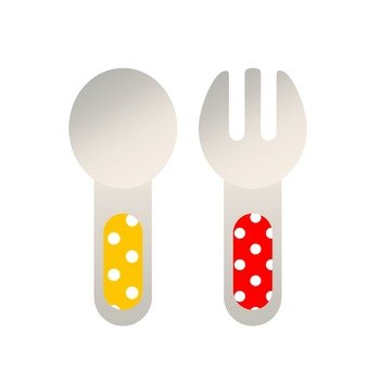 Baby spoon & fork