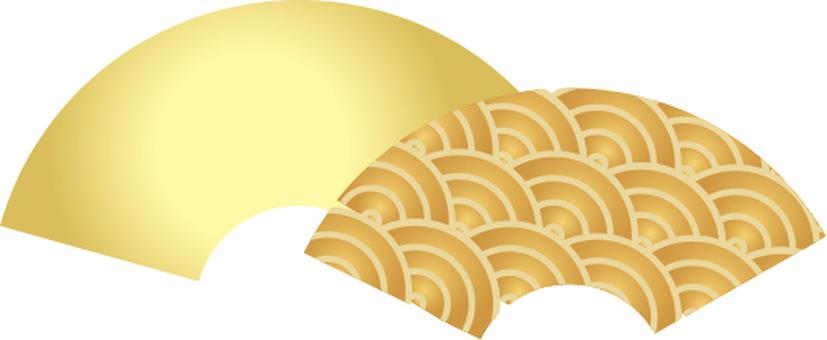 Fan gold Qinghai wave