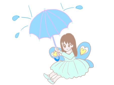 비오는 날의 요정 씨