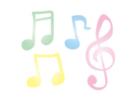 Pastel color notes