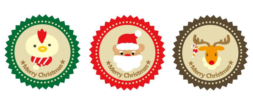 圣诞节图标2动物