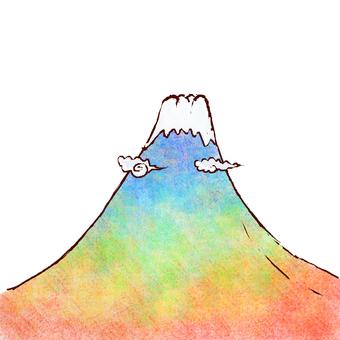 칠색 후지산