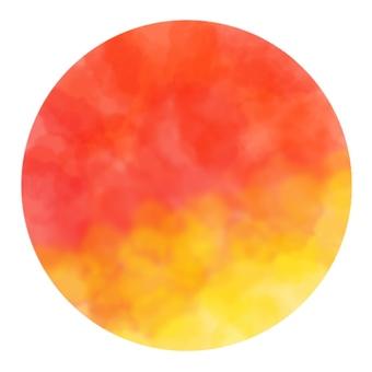 Circular background, gradient 4