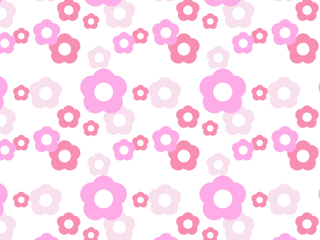 Background Floral Pattern Pink
