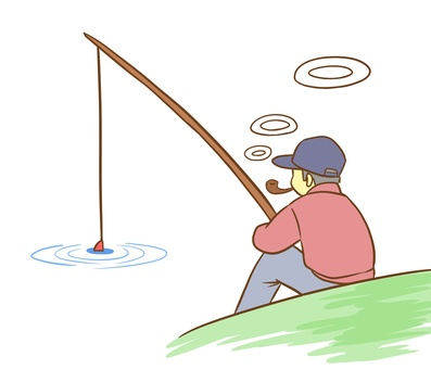 Leisurely fishing
