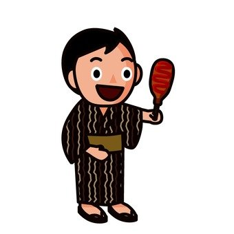 A yukata 's boy