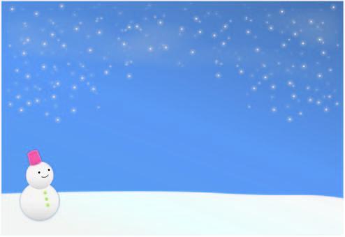 白雪皚皚的背景