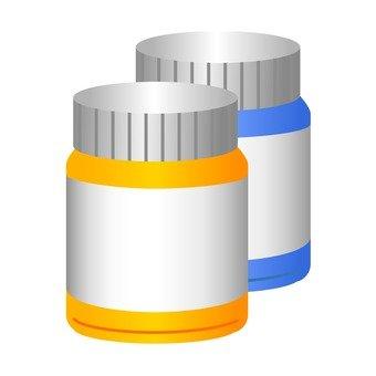 Container of medicine