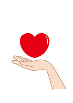 Hand wrapping Heart D