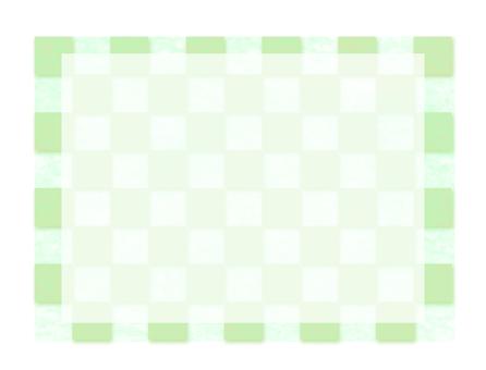 Checkered pattern green