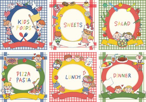 Kids & Food Frame