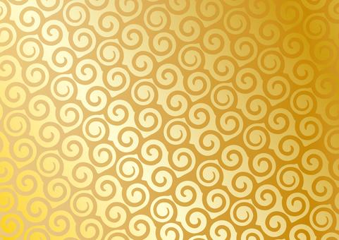 Background _ vortex _ gold