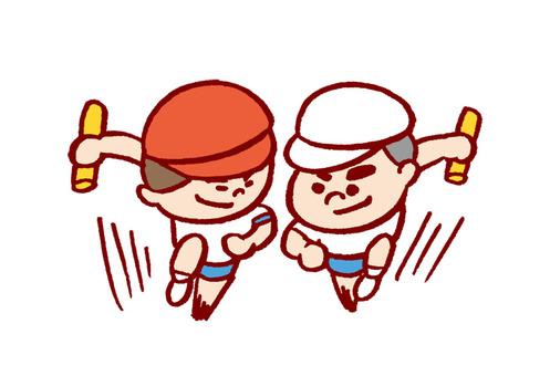 Athletic meet relay