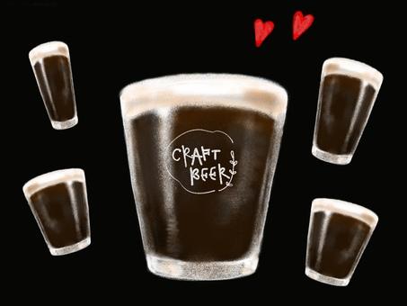 精釀啤酒黑