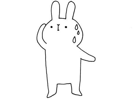 Sweat rabbit 2 of 1