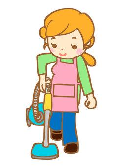 Housekeeping series _ cleaning