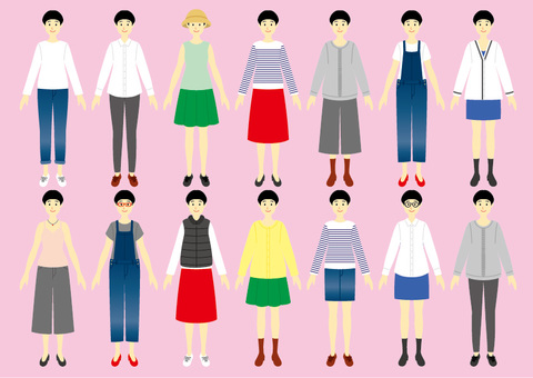 Dress up Borderless variation