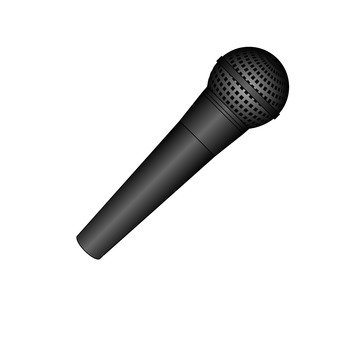 Microphone (black)