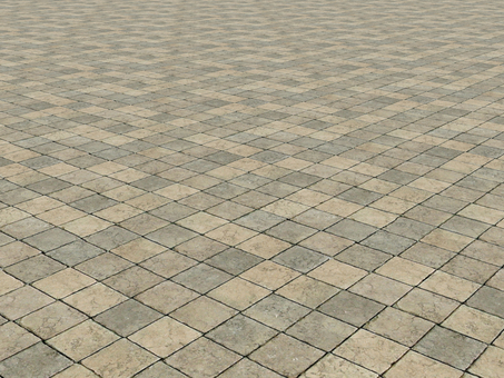 Stone pavement background (perspective)