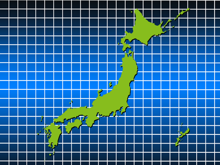 Japan Map 5