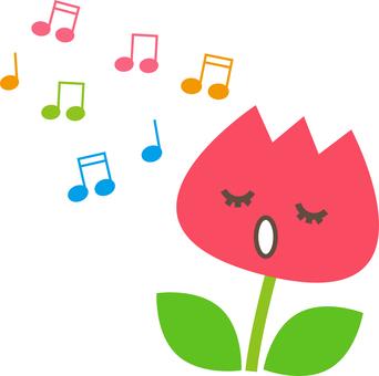 Singing tulip