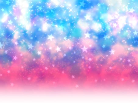 Blue x pink gradient universe wallpaper